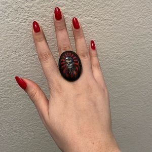 Jewelry - Lucky Hellcat Elvis Ring